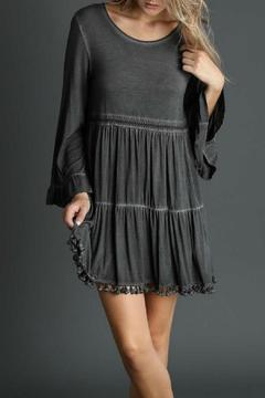 Shoptiques Product: Black Babydoll Dress