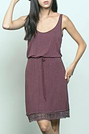 Pol clothing Crochet Trim Sundress - Product Mini Image