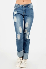 Pol clothing Destroyed Jeans - Product Mini Image