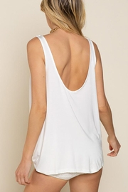 Pol clothing Plunging Twist Tank Top - Side cropped
