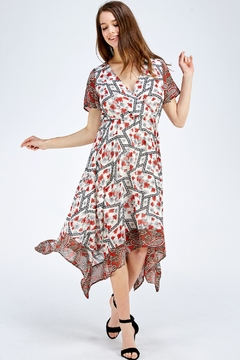 Shoptiques Product: Flloral Print Dress