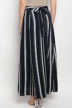 Polagram Stripe Fringes Skirt - Alternate List Image