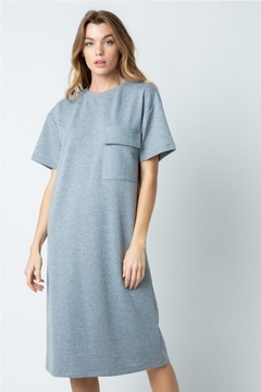 Shoptiques Product: T-Shirt Midi Dress