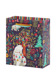 The Gift Wrap Company Polar Bear Dreams Small Gift Bag - Front cropped