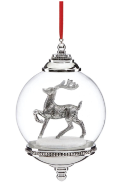 Reed & Barton Snow Globe Ornament - Product List Image