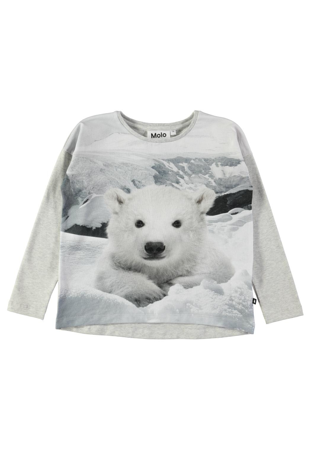 Molo Polar Bear Sweatshirt - Main Image
