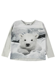 Molo Polar Bear Sweatshirt - Front cropped