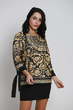Shoptiques Product: Jacquard Printed Top