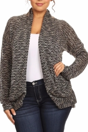 Poliana Plus The Emily Cardigan - Front cropped