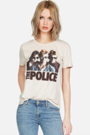 Lauren Moshi Police Ghost in the Machine Tee - Front cropped