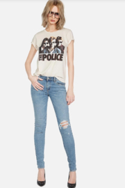 Lauren Moshi Police Ghost in the Machine Tee - Front full body