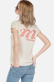 Lauren Moshi Police Ghost in the Machine Tee - Back cropped