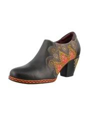 Spring Footwear Polished Leather Shootie - Product Mini Image