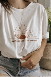 Polished Boutique Good-Things-Are-On-The-Horizon Graphic Tee - Product Mini Image
