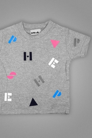 Shapes Of Things Polka Alphabet Tee - Product Mini Image