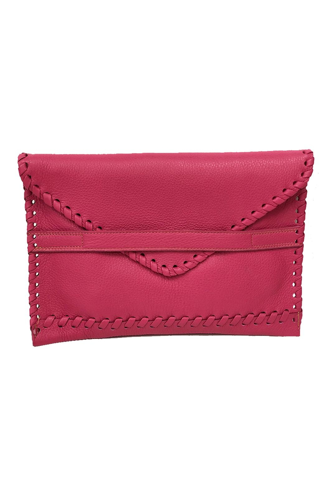 laggo  Polka Clutch - Front Cropped Image
