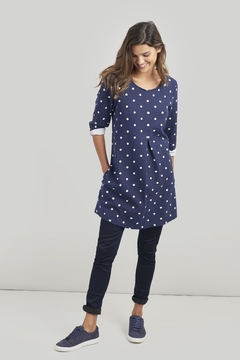 Joules Polka-Dot A-Line Tunic - Product List Image