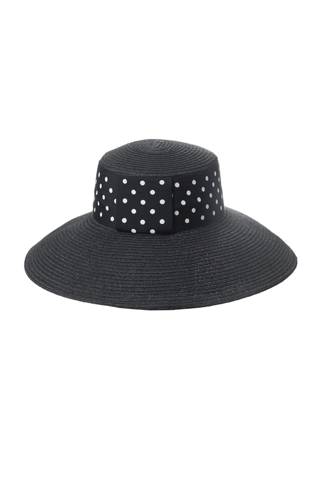 Toucan Collection Polka-Dot Band Hat - Front Cropped Image