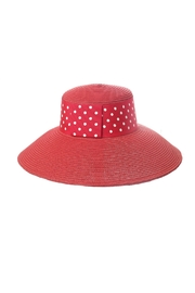 Toucan Collection Polka-Dot Band Hat - Front cropped