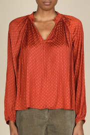 Current Air Polka Dot Blouse - Product Mini Image