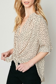 Hayden Polka Dot Blouse - Front full body