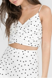 Lush Polka Dot Crop - Product Mini Image