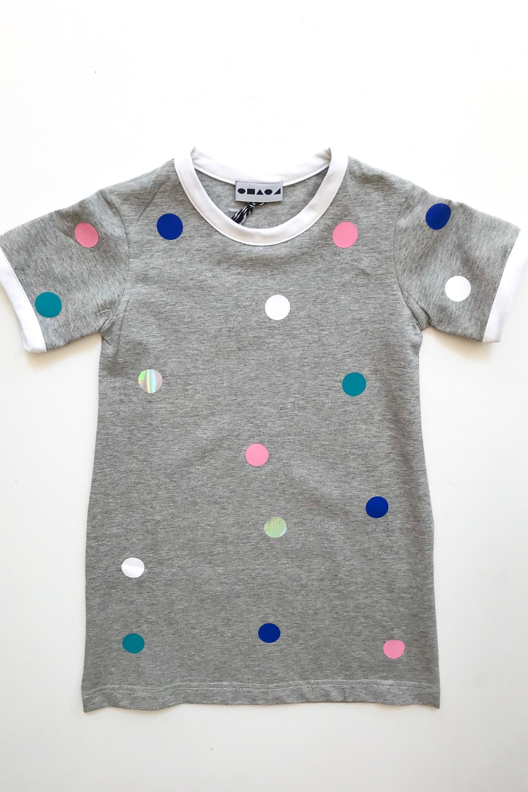 Shapes Of Things Polka Dot Dress - Front Cropped Image