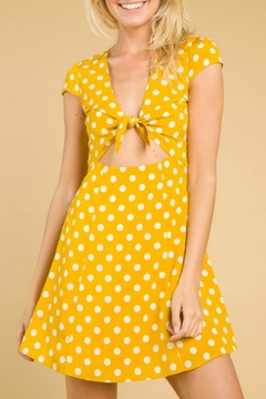 Wild Honey Polka Dot Dress - Product List Image