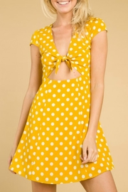 Wild Honey Polka Dot Dress - Product Mini Image