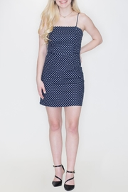 She + Sky Polka Dot Dress - Front cropped