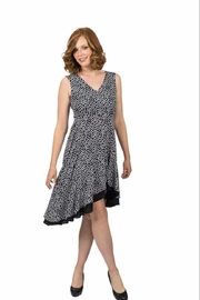 Scapa Polka Dot Flare Dress - Product Mini Image