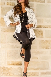 Pure Essence Polka Dot Jacket - Product Mini Image