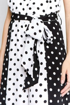 Strut & Bolt Polka Dot Jumpsuit - Alternate List Image