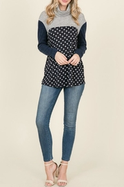 Reborn J Polka-Dot Light-Weight Sweater - Product Mini Image