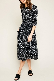 Hayden Los Angeles Polka Dot Midi-Dress - Product Mini Image