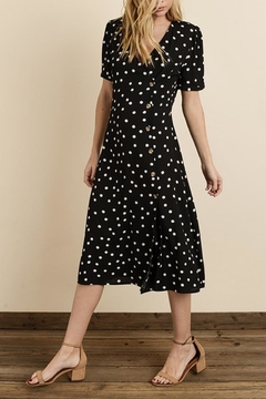 dress forum Polka-Dot Midi Dress - Alternate List Image