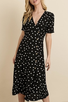 dress forum Polka-Dot Midi Dress - Product List Image