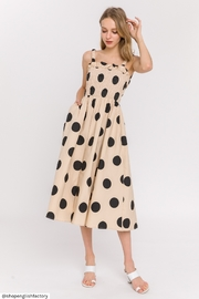 English Factory Polka Dot Midi Dress - Product Mini Image
