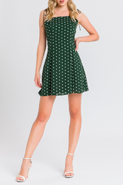 After Market Polka Dot Mini Dress - Product Mini Image
