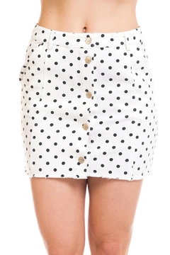 Shoptiques Product: Polka-Dot Mini Skirt
