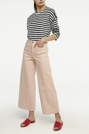 Compania Fantastica Polka Dot Pants - Back cropped