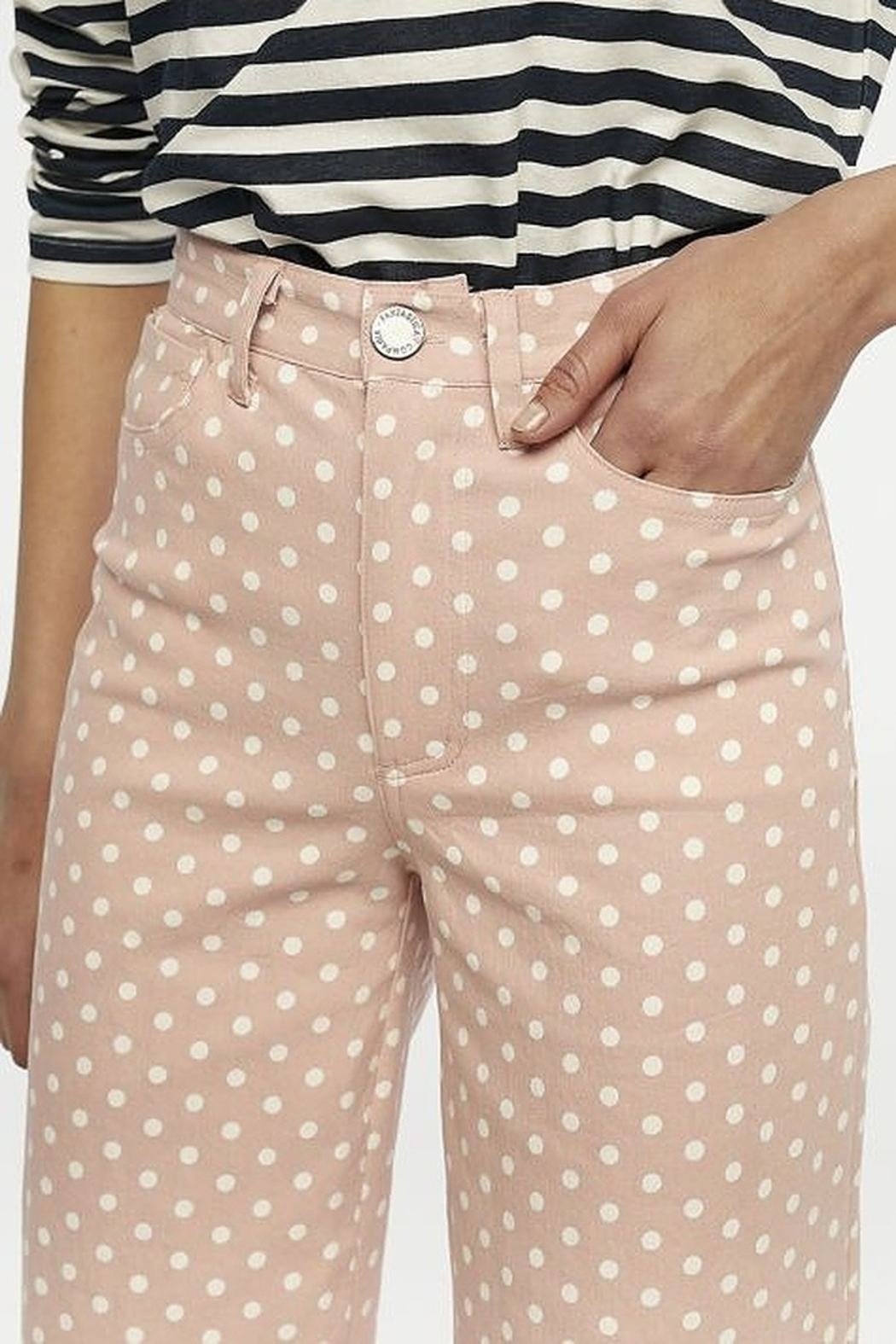 Compania Fantastica Polka Dot Pants - Side Cropped Image