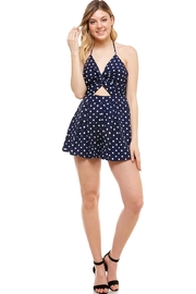 miss avenue  Polka Dot Romper - Product Mini Image