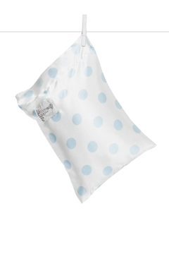 Shoptiques Product: Polka-Dot Satin Pillow