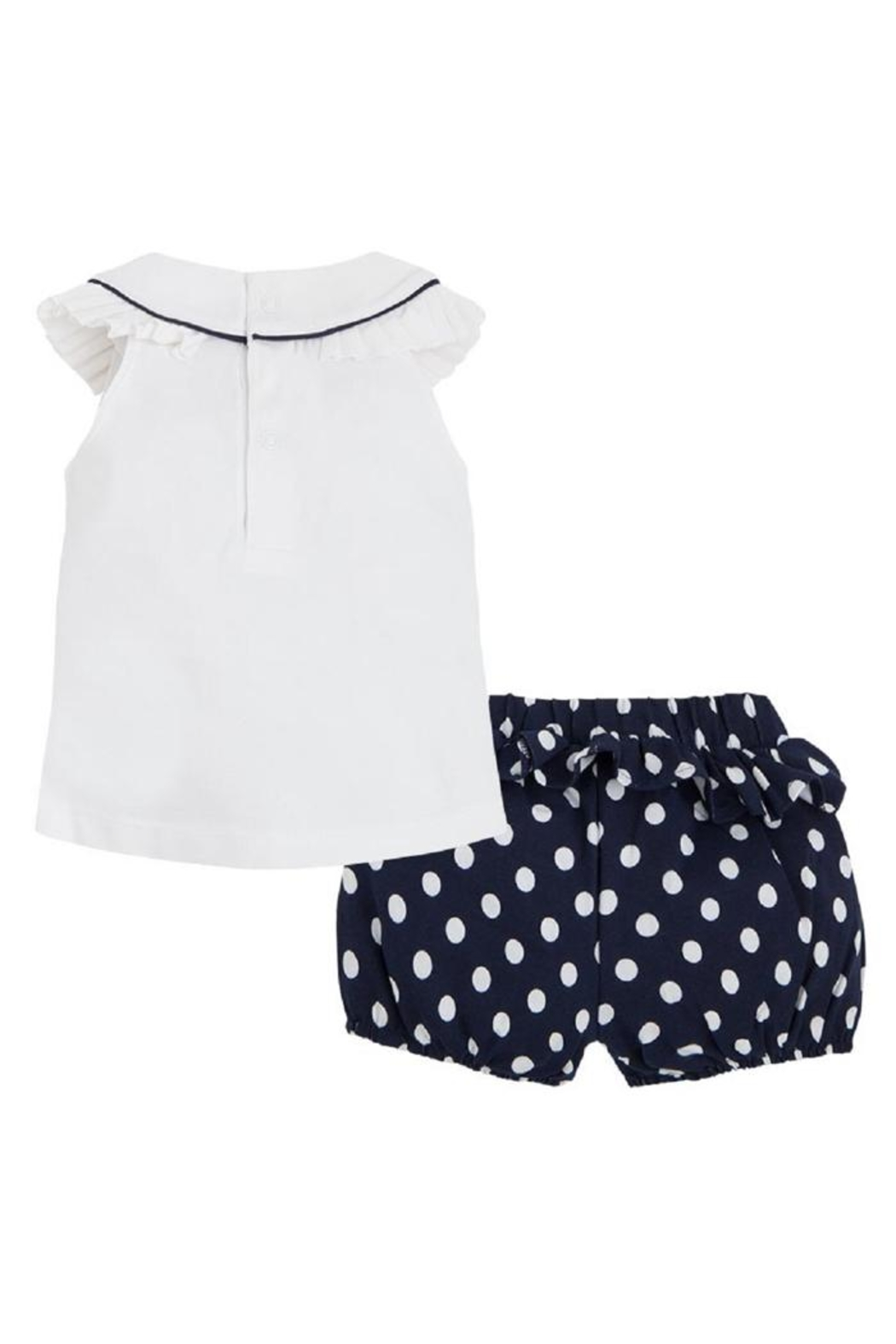 Mayoral Polka-Dot Short Set - Front Full Image