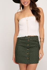 Lyn-Maree's  Polka Dot Skirt - Front cropped