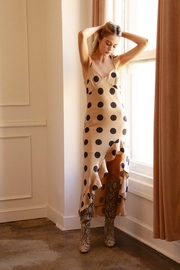 Moodie Polka Dot Slip Dress - Product Mini Image