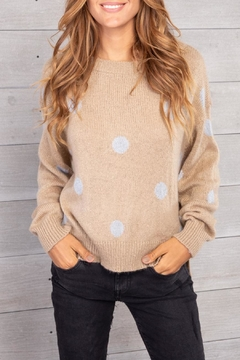 Wooden Ships Polka Dot Sweater - Product List Image