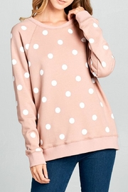 OVI Polka Dot Sweatshirt - Product Mini Image