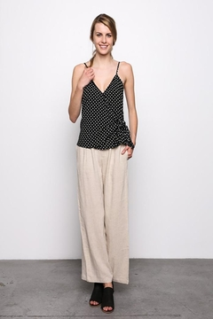 Grade and Gather Polka Dot Tank - Product List Image